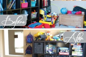 Organized Kids Play Area
