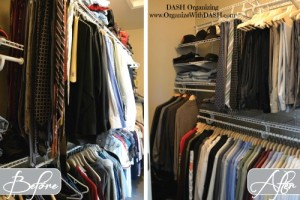Men's Walk-In Closet