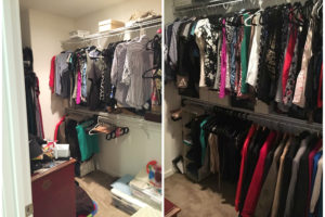 Before & After Master Closet